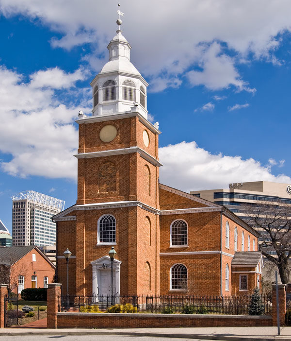 Old Otterbein Church in Baltimore, Md.