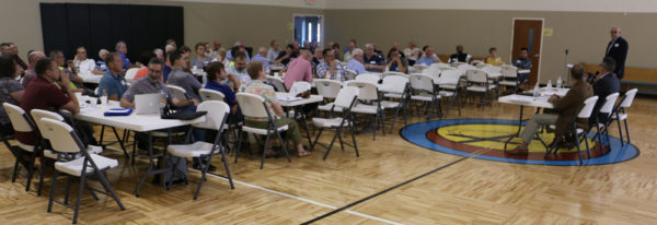 The meeting at Praise Point UB church in Willshire, Ohio, on June 17, 2017.