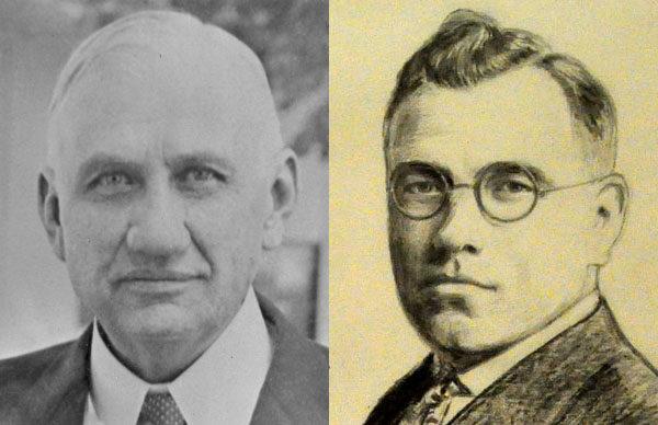Olin Alwood (left) and Harold Mason.