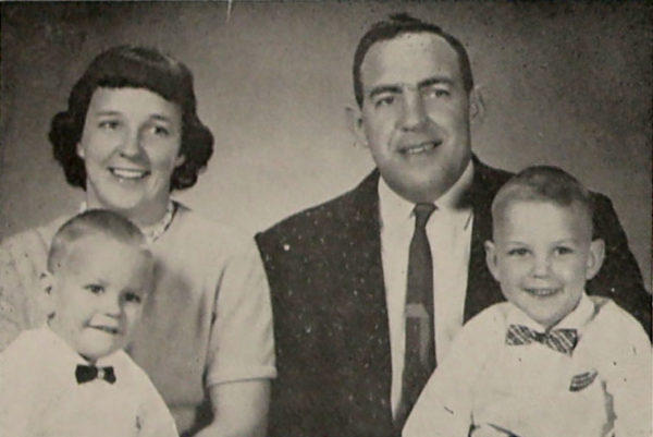 Jerry and Eleanore Datema and two oldest sons.