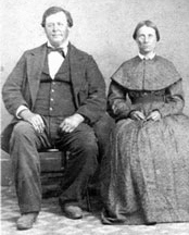 George and Keziah Bethers in 1849.