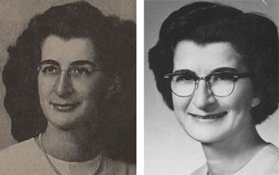 Two of Floy Mulkey's missionary photos.