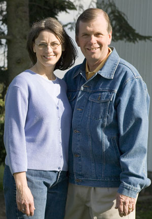 Tim and Sue Walberg